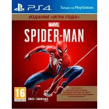 Игра Spider-Man Издание Игра года для PS4