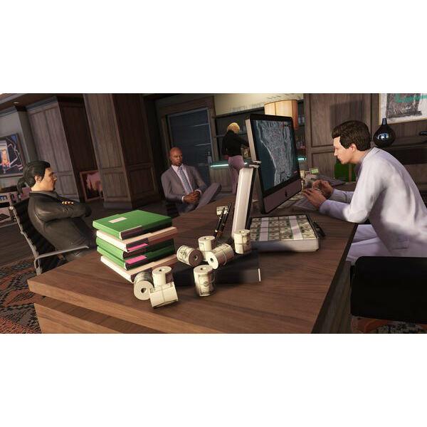 Игра Grand Theft Auto V Premium Online Edition для PS4 (5026555426886) Платформа PlayStation 4