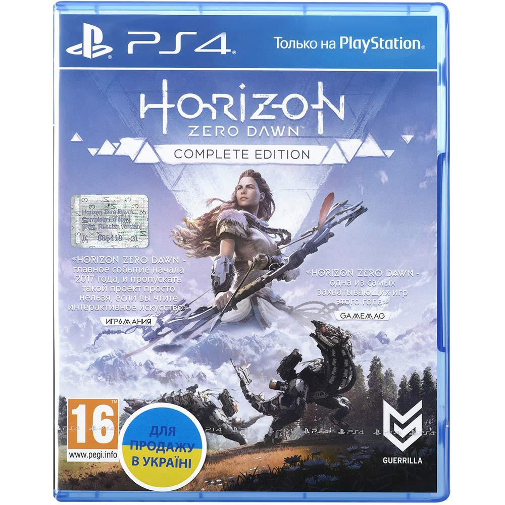 Игра Horizon Zero Dawn. Complete Edition для PS4 русская версия