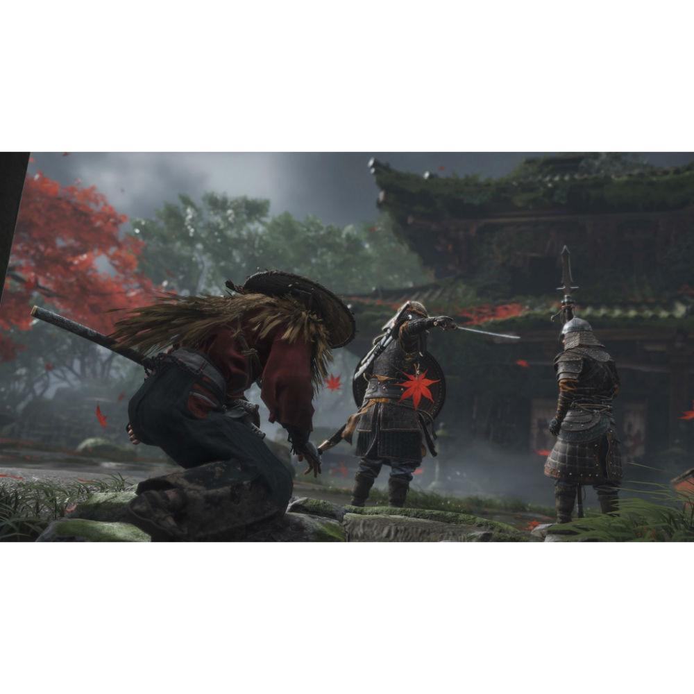 Игра Ghost of Tsushima для PS4 Платформа PlayStation 4