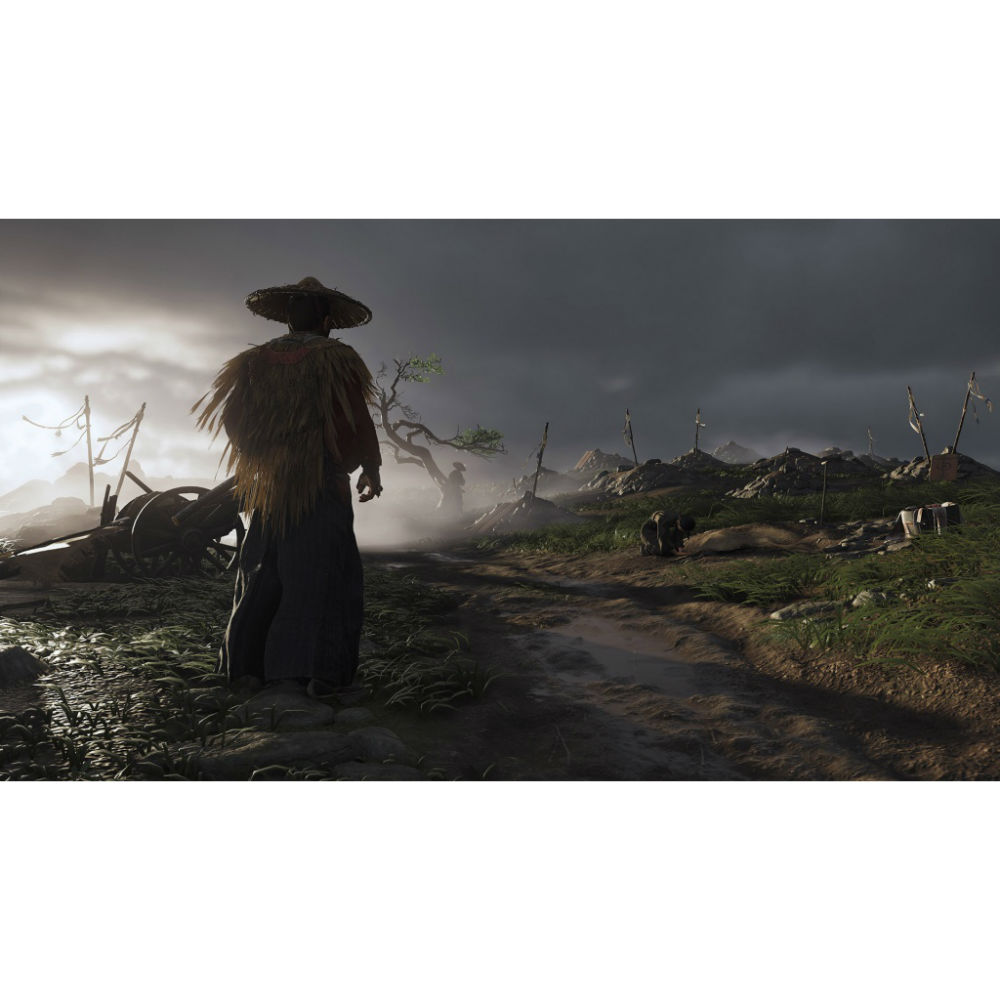 Игра Ghost of Tsushima для PS4 Жанр боевики (Action)