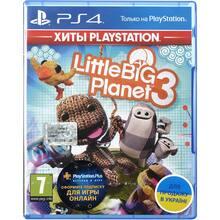 Игра LittleBigPlanet 3 для PS4 русская версия