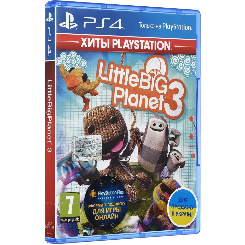 Игра LittleBigPlanet 3 для PS4 русская версия Платформа PlayStation 4