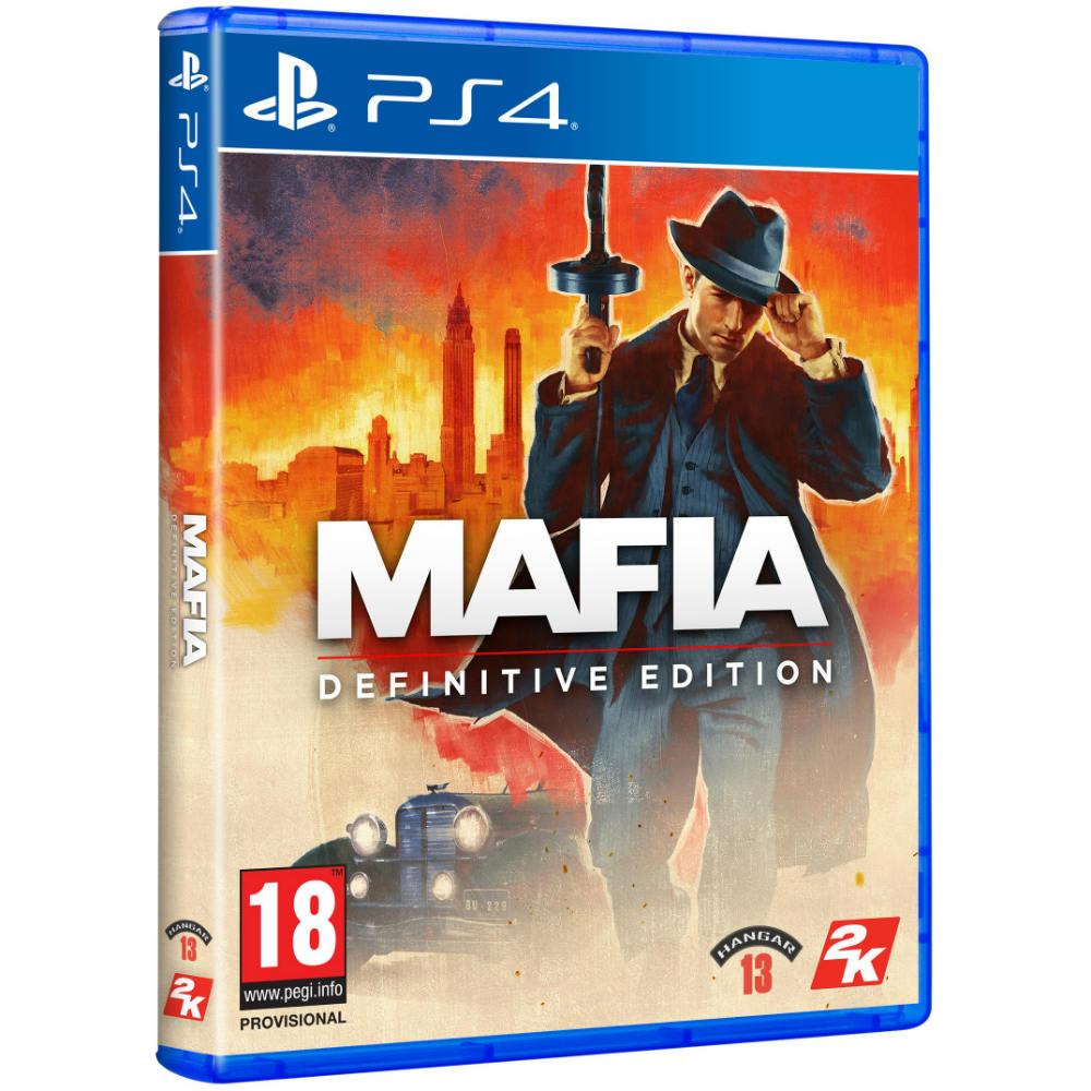 Игра Mafia Definitive Edition для PS4