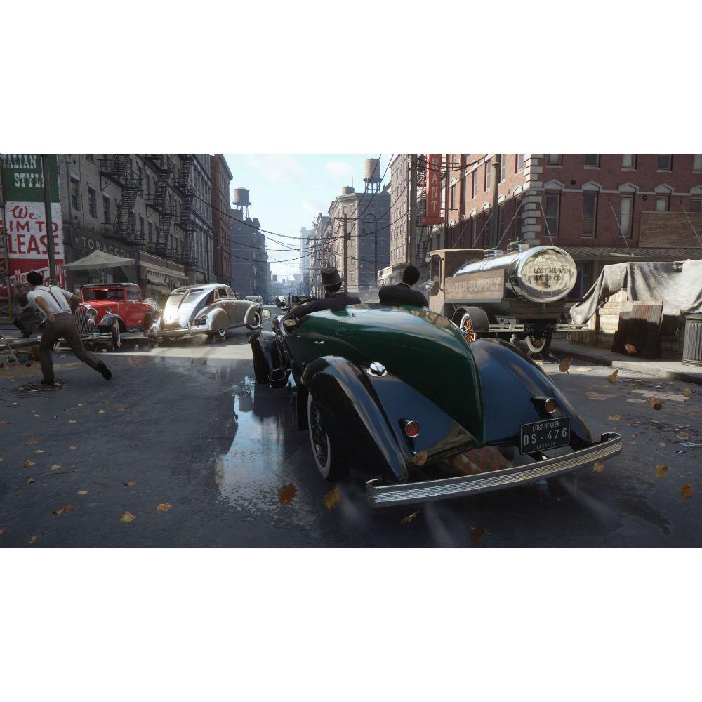 Игра Mafia Definitive Edition для PS4 Жанр боевики (Action)