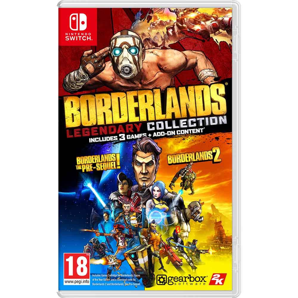 Гра Borderlands Legendary Collection для Nintendo Switch (5026555068659)
