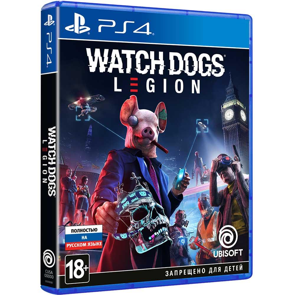 Игра Watch Dogs Legion для PS4 (PSIV724) Платформа PlayStation 4