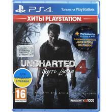 Гра Uncharted 4: Шлях злодія для PS4 російська версія