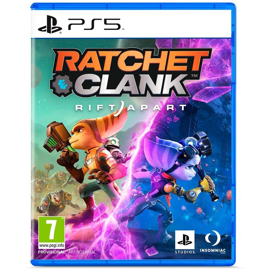 Игра Ratchet Clank Rift Apart для PS5 (PRE-0007) Платформа PlayStation 5