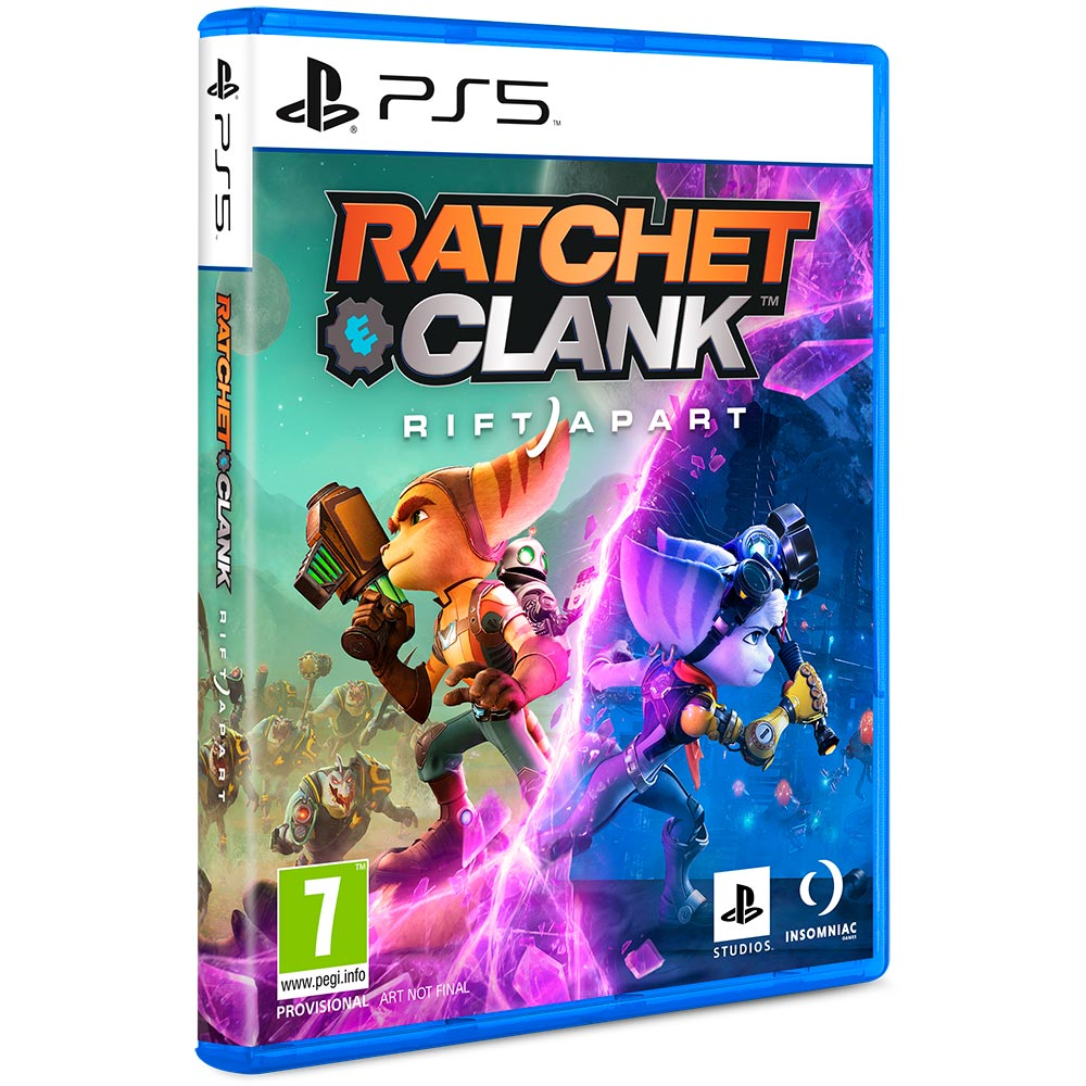 Игра Ratchet Clank Rift Apart для PS5 (PRE-0007) Жанр боевики (Action)