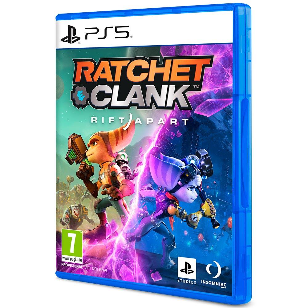 Игра Ratchet Clank Rift Apart для PS5 (PRE-0007) Жанр шутер от третего лица (TPS)