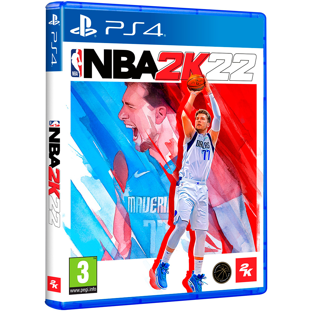 Игра NBA 2K22 для PS4 Платформа PlayStation 4