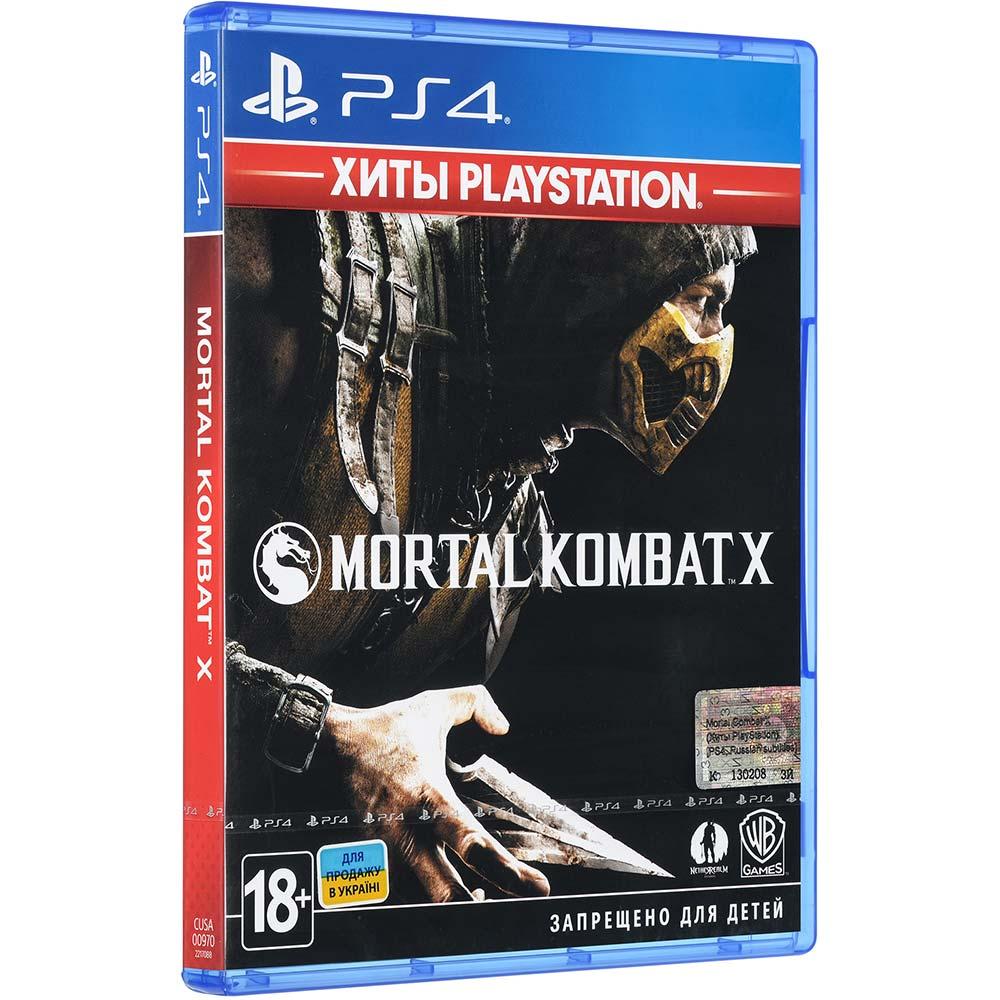 Игра Mortal Kombat X для PS4 (2217088) Платформа PlayStation 4
