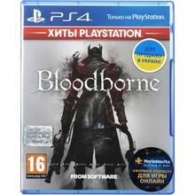 Игра Bloodborne: Порождение крови для PS4 русские субтитры