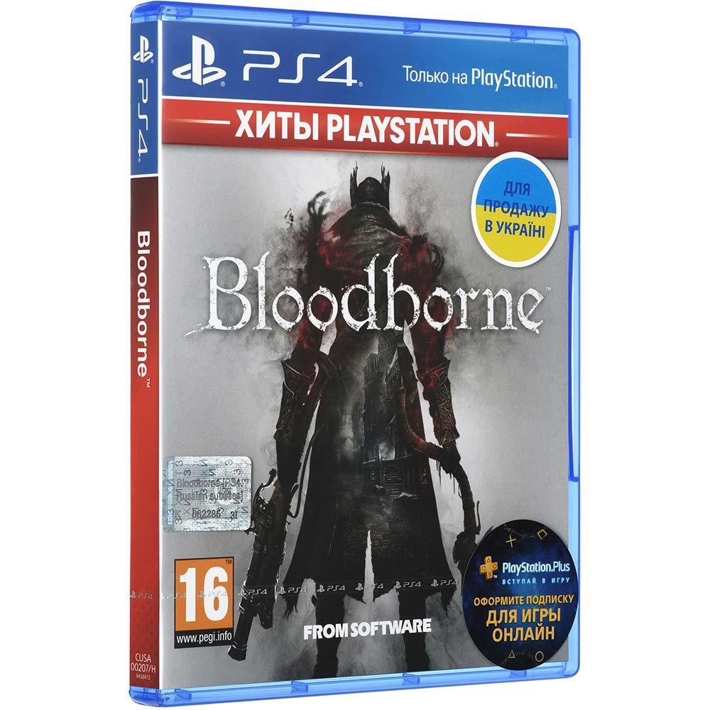 Игра Bloodborne: Порождение крови для PS4 русские субтитры Платформа PlayStation 4