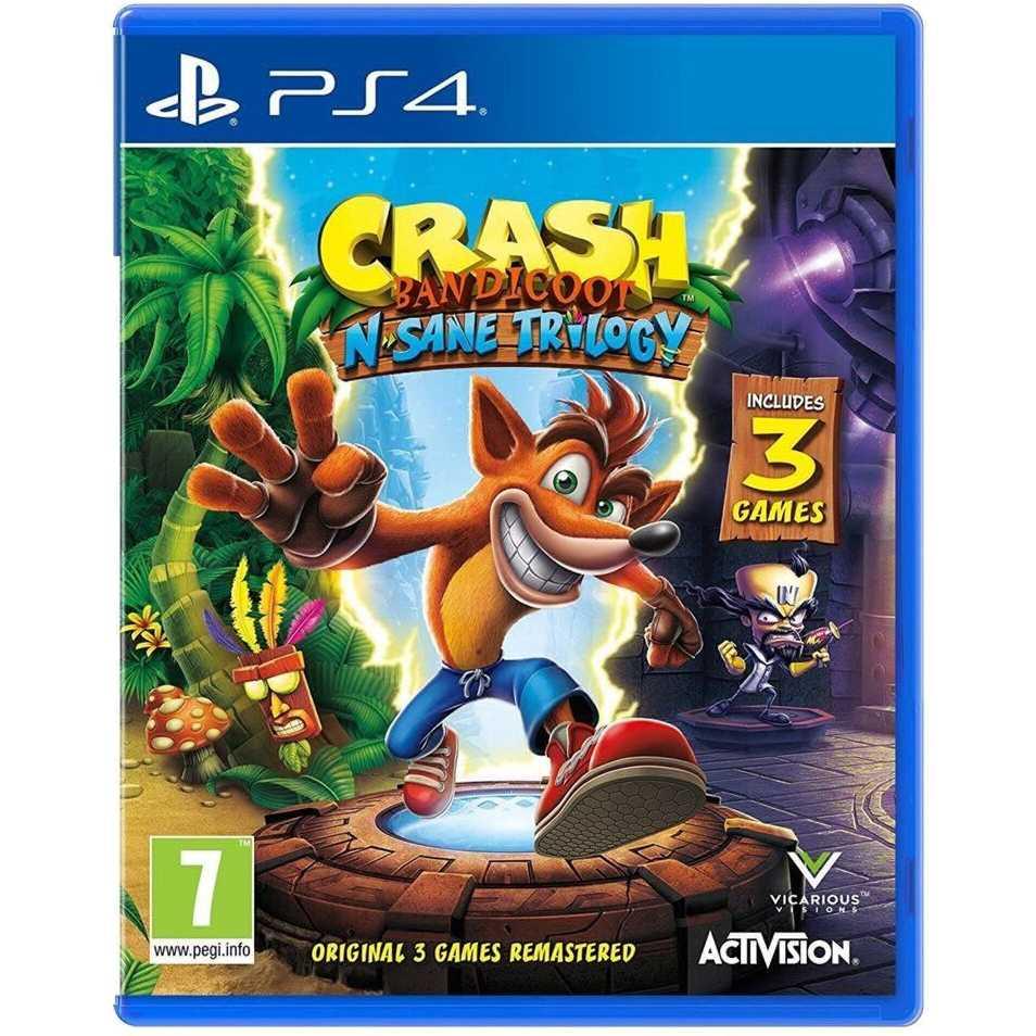 Игра Crash Bandicoot N'sane Trilogy для PS4 (88222EN)