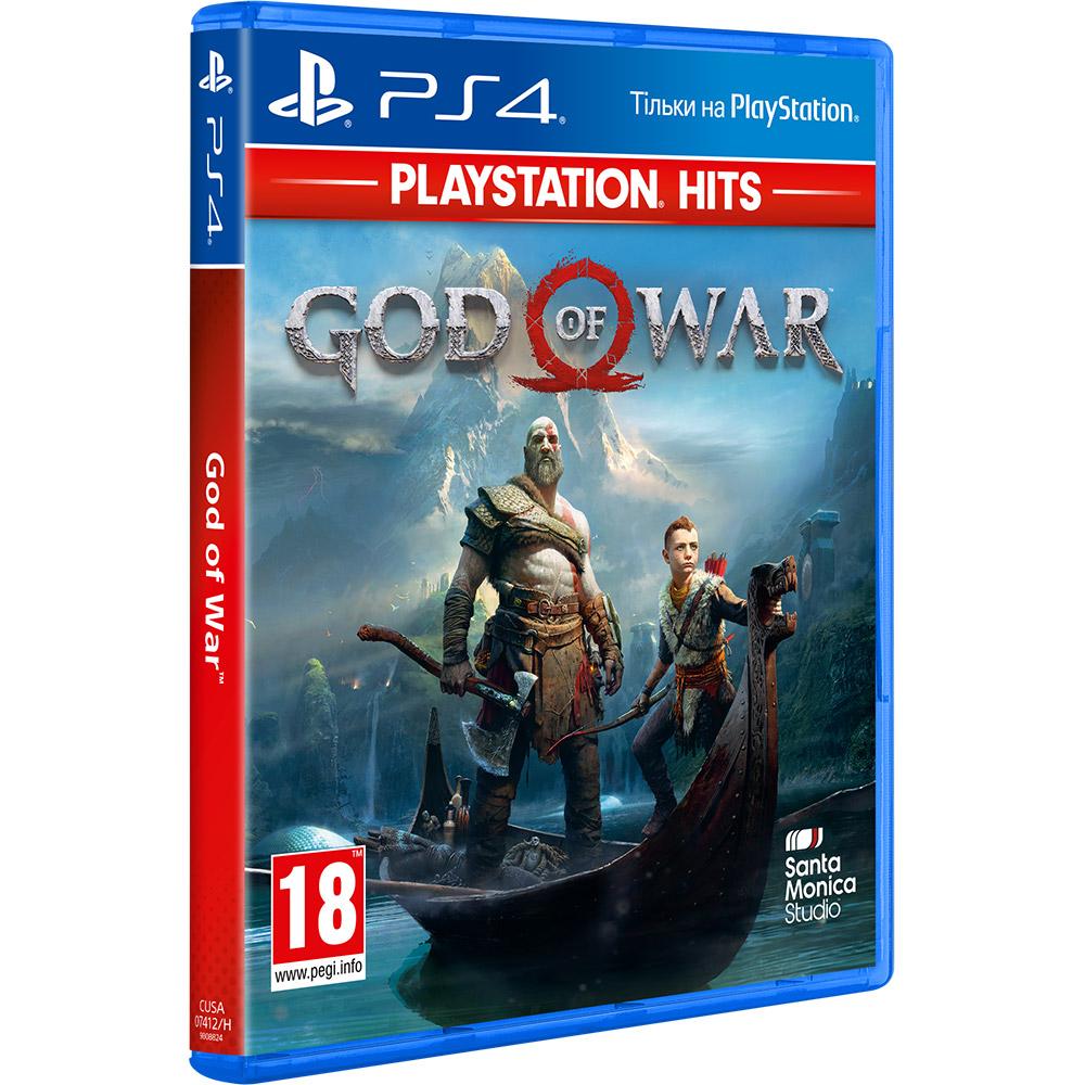 Игра God of War 2018 для PS4 русская версия Платформа PlayStation 4