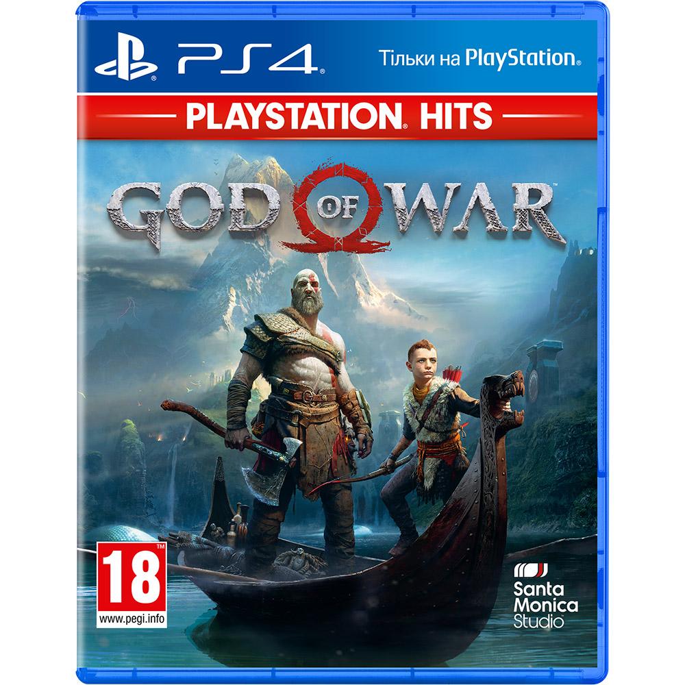 Игра God of War 2018 для PS4 русская версия