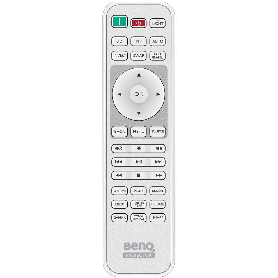 Проектор BENQ W1090 (9H.JG277.27E) Максимально поддерживаемое разрешение 1920 x 1200