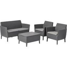 Набор мебели KETER Salemo set Grey