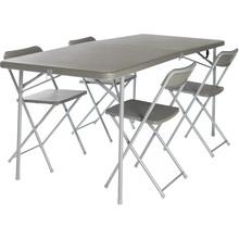 Стол кемпинговый VANGO Orchard XL 182 Table and Chair Set Grey (TBNORCHARG10TET)