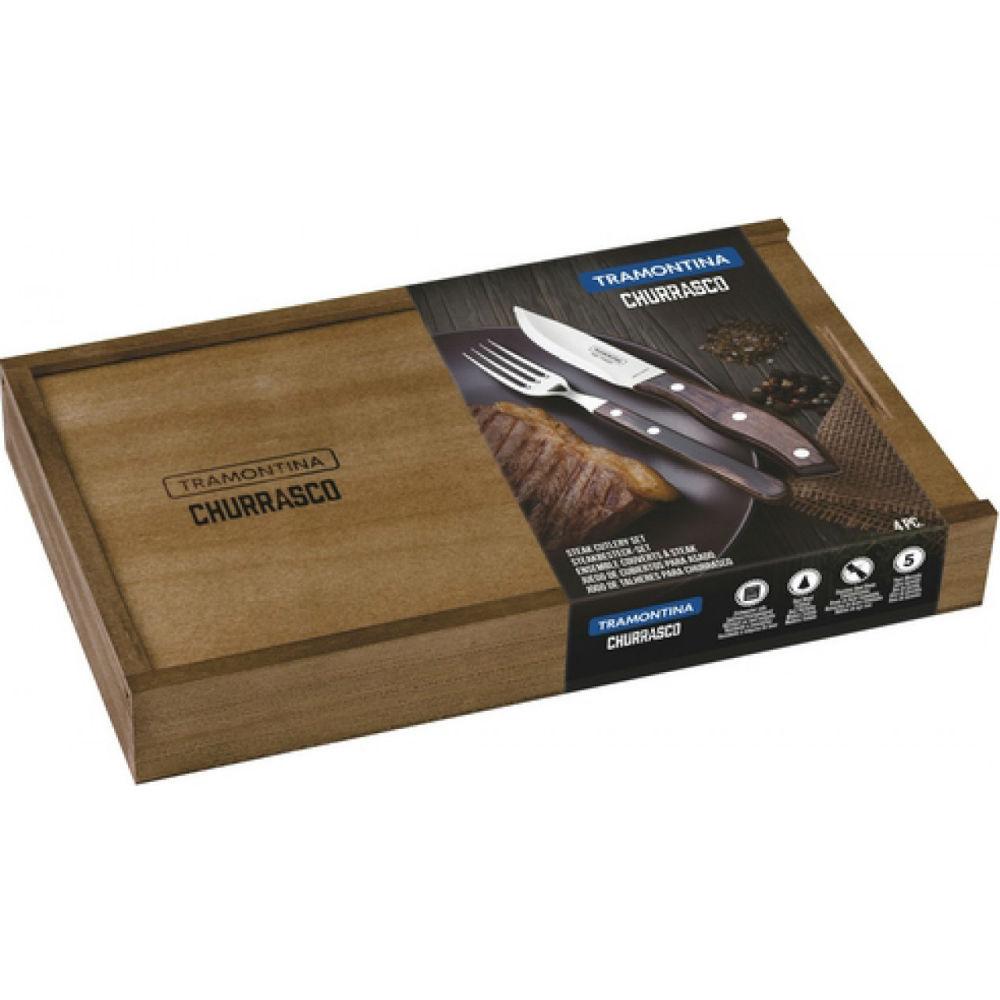 Набор приборов для гриля TRAMONTINA Barbecue (29899/532) Возможность копчения False