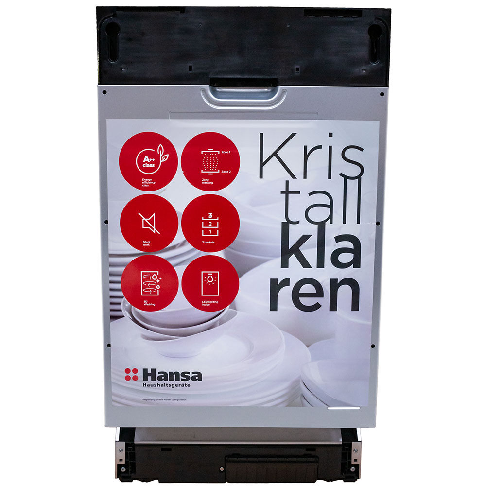 Встраиваемая посудомоечная машина HANSA ZIM 426 EH Тип полностью встраиваемые