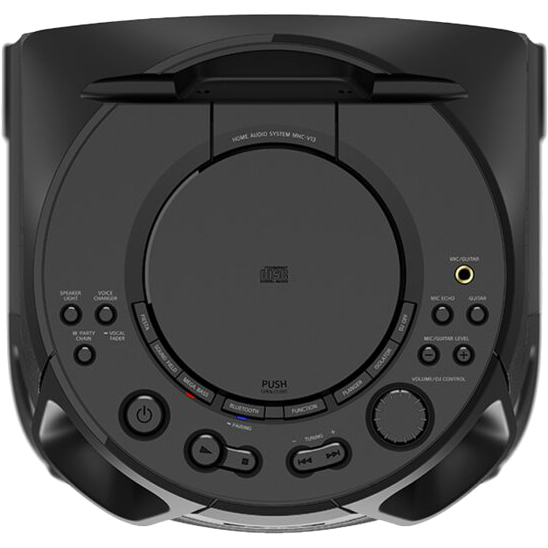 Акустическая система SONY MHCV13 Black Функциональность караоке