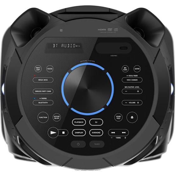 Акустическая система SONY MHCV73D Black Функциональность FM-тюнер