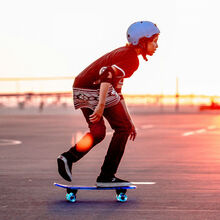 Скейтборд NEON Cruzer Красный (N100791)