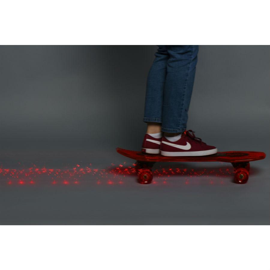 Скейтборд NEON Cruzer Красный (N100791) Класс для начинающих