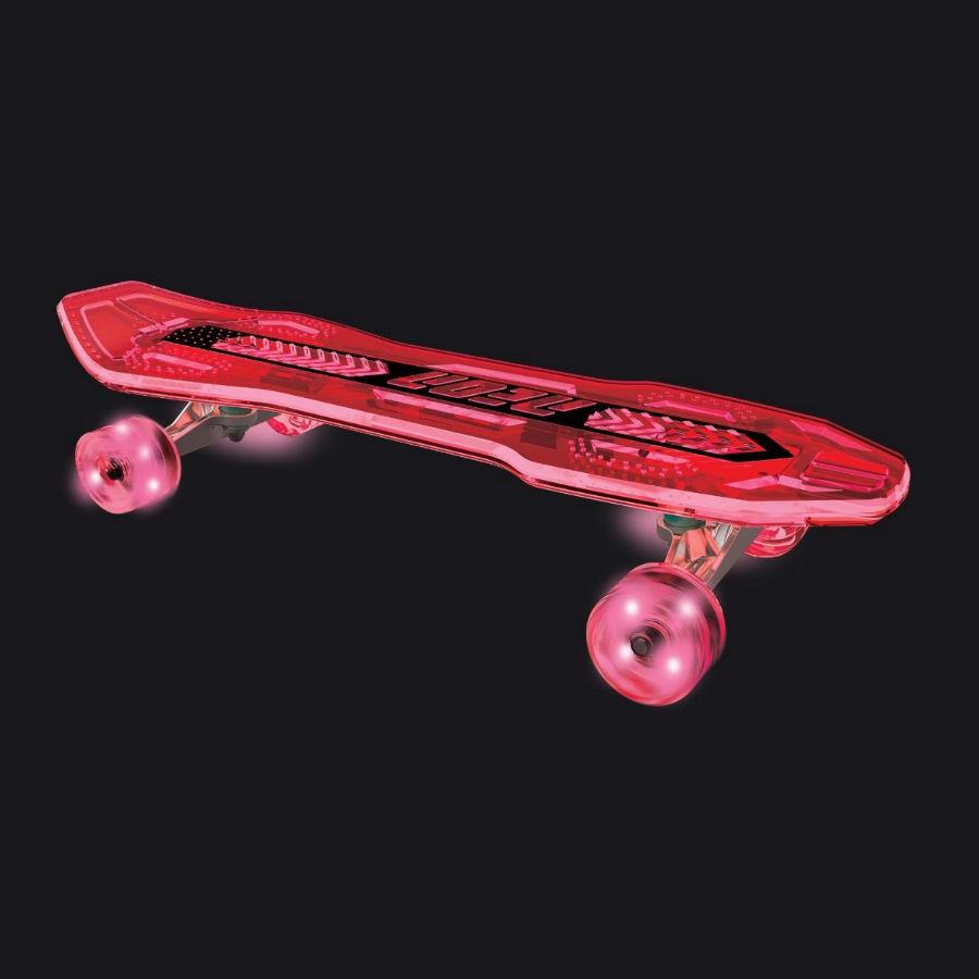 Скейтборд NEON Cruzer Красный (N100791) Максимальная нагрузка 51 - 75