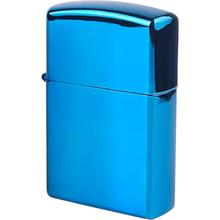 USB зажигалка Bergamo 700F Синяя (700F-3)