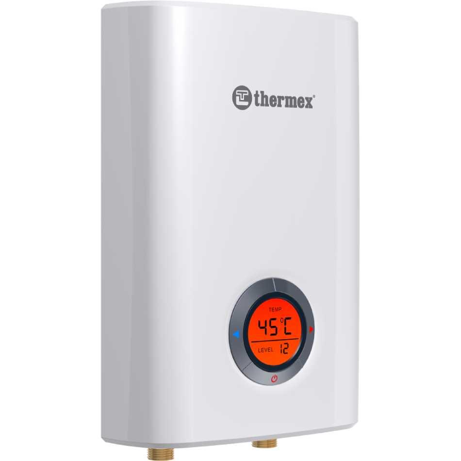 Проточный водонагреватель THERMEX Topflow 6000 Регулятор мощности есть