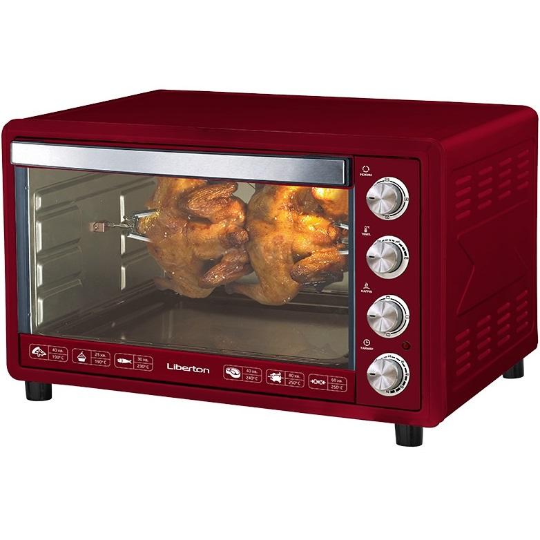 Электропечь LIBERTON LEO-651 Dark Red
