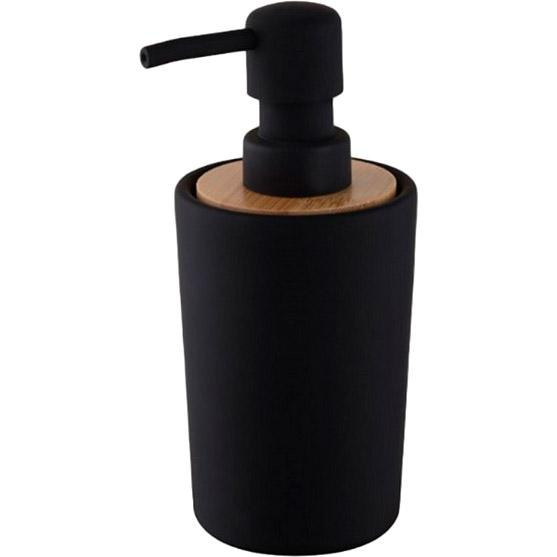 Дозатор для мыла BISK PLAIN Black (06572)