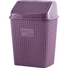 Кошик для сміття VIOLET HOUSE 0026 Віолетта PLUM 10 л