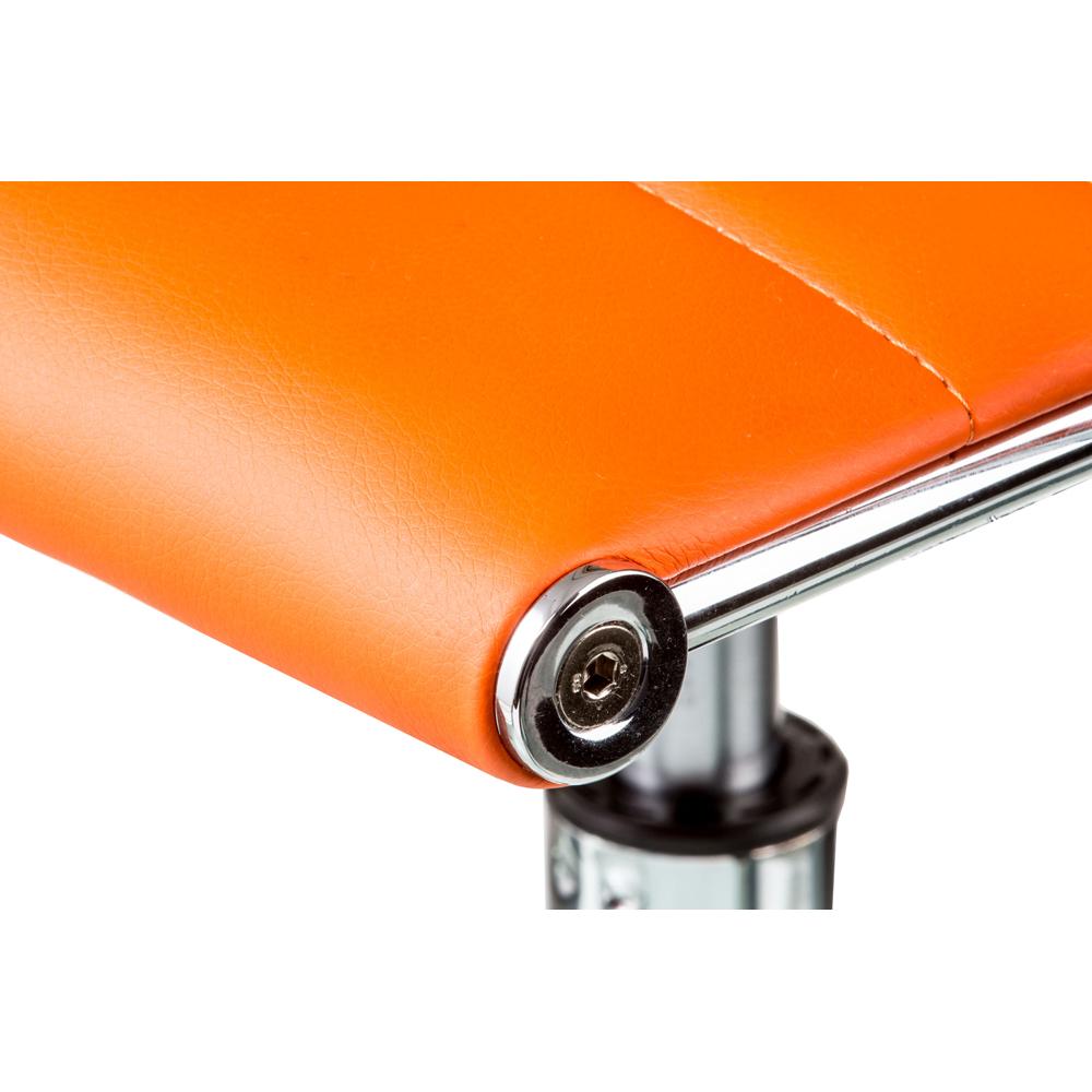 Барный стул SPECIAL4YOU Bar orange plate (E1137) Материал сидения кожзаменитель