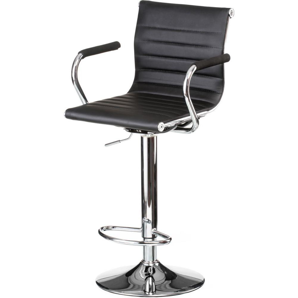 Барный стул SPECIAL4YOU Bar black plate (E1144) Материал сидения кожзаменитель