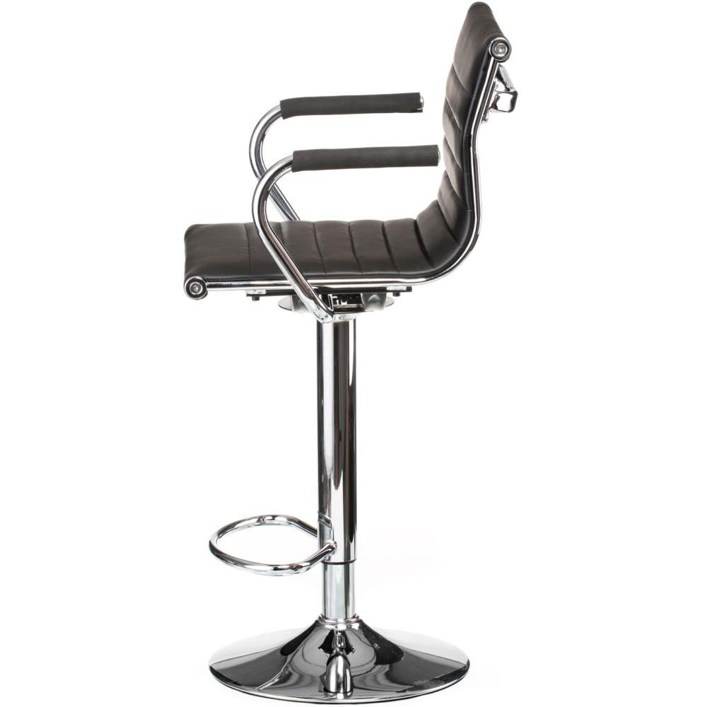 Барный стул SPECIAL4YOU Bar black plate (E1144) Высота кресла 95.5-117