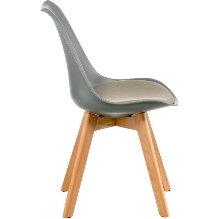 Стул SPECIAL4YOU Sеdia grey (E5739) Высота кресла 81.5