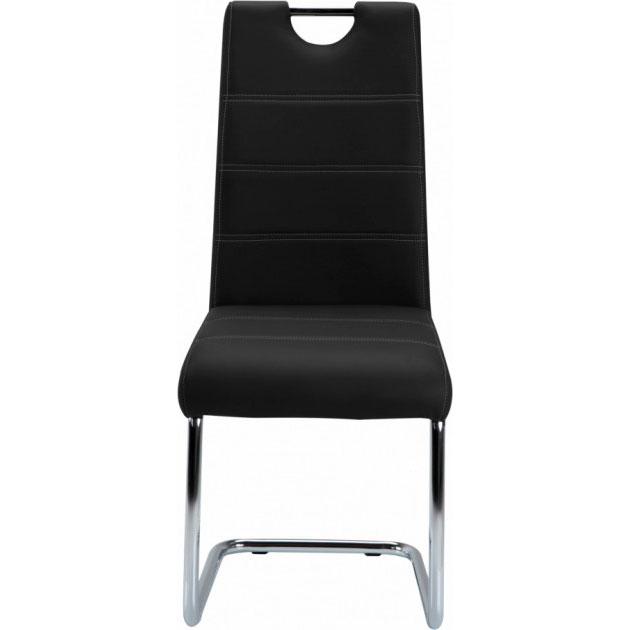 Стул GT KY666 Black Материал сидения кожзаменитель