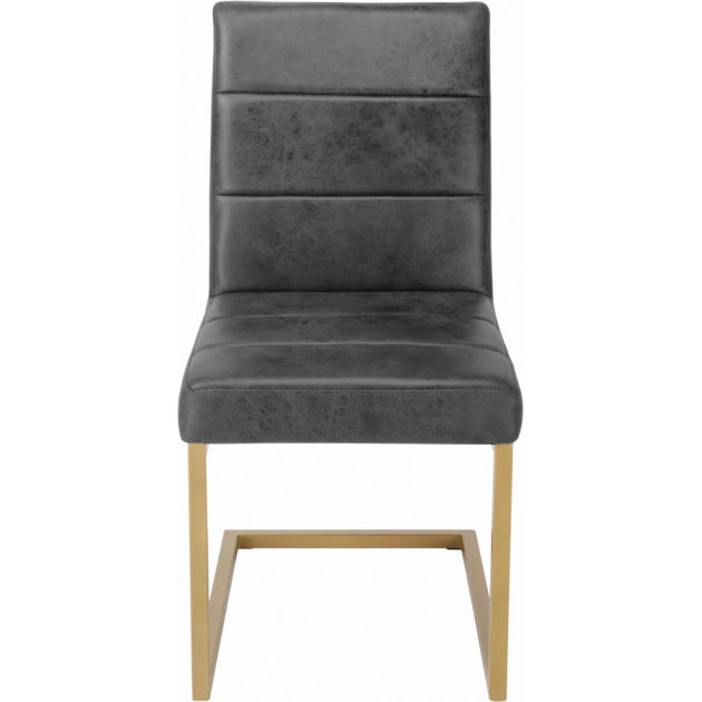 Стул GT KY8776 Black bronzing Материал сидения кожзаменитель