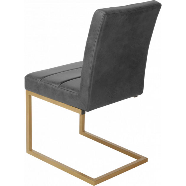 Стул GT KY8776 Black bronzing Ширина сиденья 46