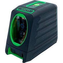 Лазерний рівень PROTESTER, 2 лінії, 1H/1V, 2 лазерних модуля зелений промінь (LL202G)