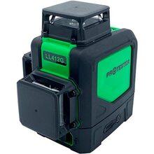 Лазерний рівень PROTESTER, 3x360° H360/2xv360, зелений промінь (LL412G)