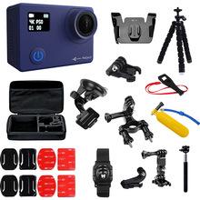 Екшн камера AIRON ProCam 8 Blue + набір аксесуарів 30 в 1 (69477915500062)