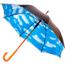 Зонт BERGAMO Toprain Black/Blue (4513203)