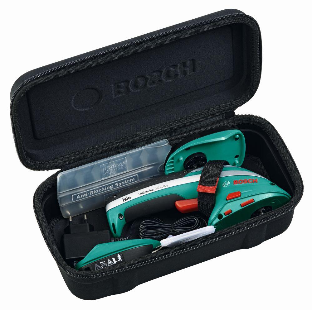 Аккумуляторные ножницы для травы и кустов BOSCH ISIO 3 (0600833102) Ширина ножа 8