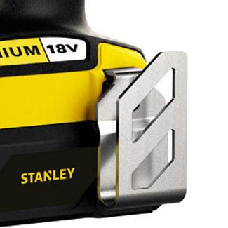 Дрель-шуруповерт Stanley STDC18LHBK Тип питания аккумулятор